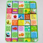 Коврик детский на фольгированной основе, размер 117х90 см, цвета МИКС
