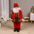 """Дед Мороз """"Узорная шубка"""" 100 см, двигается, мелодия"""