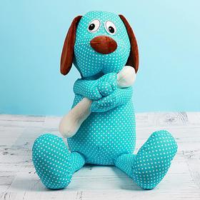 """Мягкая игрушка """"Собака из ситца"""" 50 см"""