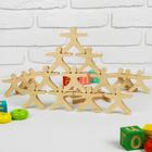 """Развивающая игрушка Балансир """"Физкультурники"""", 21 элемент, размер человечка: 7,5 × 7.5 см"""