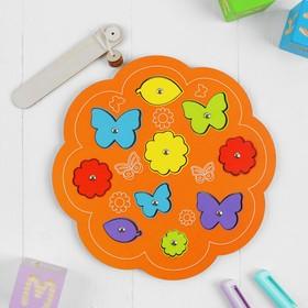 Магнитная рыбалка «Бабочки и цветочки» МИКС