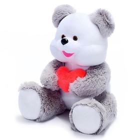 """Мягкая игрушка """"Медведь"""" с сердцем, МИКС"""