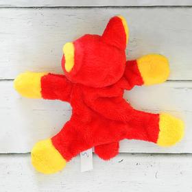 """Мягкая игрушка - магнит """"Собачка"""" длинные ушки, цветок, цвета МИКС"""