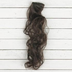 """Волосы - тресс для кукол """"Кудри"""" длина волос 40 см, ширина 50 см, №2"""