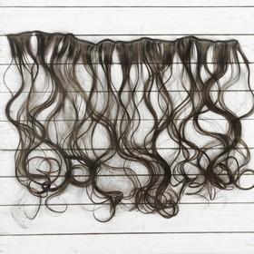 """Волосы - тресс для кукол """"Кудри"""" длина волос 40 см, ширина 50 см, №3"""