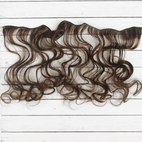 """Волосы - тресс для кукол """"Кудри"""" длина волос 40 см, ширина 50 см, №10"""
