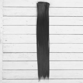 """Волосы - тресс для кукол """"Прямые"""" длина волос 40 см, ширина 50 см, №2В"""