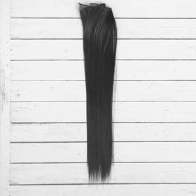 """Волосы - тресс для кукол """"Прямые"""" длина волос 40 см, ширина 50 см, №1"""