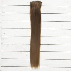 """Волосы - тресс для кукол """"Прямые"""" длина волос 40 см, ширина 50 см, №9"""
