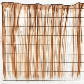 """Волосы - тресс для кукол """"Прямые"""" длина волос 40 см, ширина 50 см, №12"""