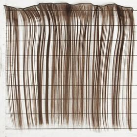 """Волосы - тресс для кукол """"Прямые"""" длина волос 40 см, ширина 50 см, №4А"""