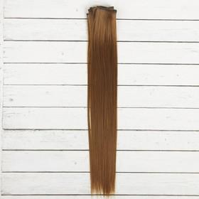 """Волосы - тресс для кукол """"Прямые"""" длина волос 40 см, ширина 50 см, №6"""