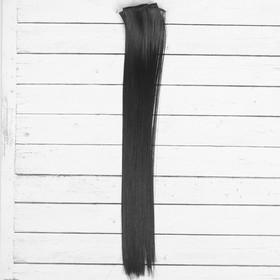 """Волосы - тресс для кукол """"Прямые"""" длина волос 40 см, ширина 50 см, №4В"""