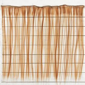 """Волосы - тресс для кукол """"Прямые"""" длина волос 40 см, ширина 50 см, №30А"""