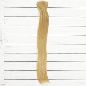 """Волосы - тресс для кукол """"Прямые"""" длина волос 40 см, ширина 50 см, №24"""