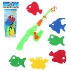 Рыбалка «Цветные рыбки», 7 предметов