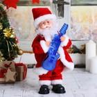 """Дед Мороз """"Гитарист"""", подсветка, двигается, английская мелодия"""