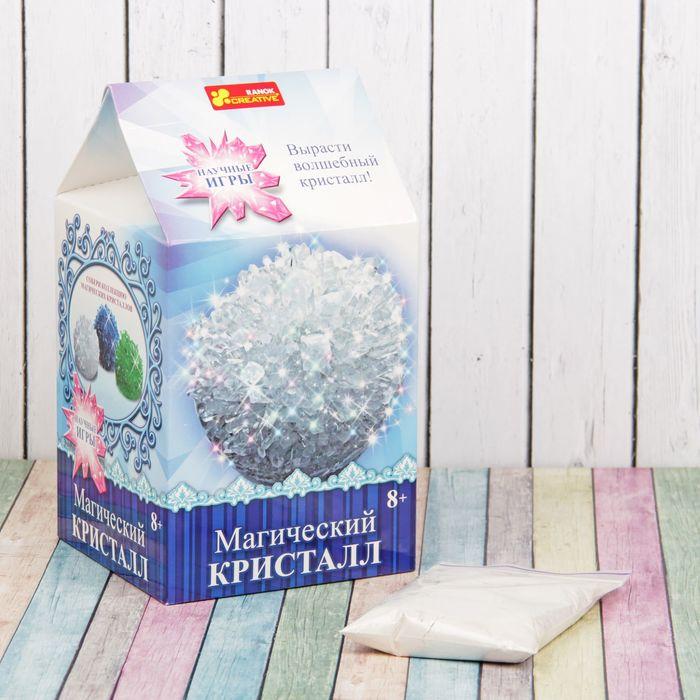 Набор для выращивания кристаллов Магический кристалл белый