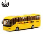 Автобус радиоуправляемый «Междугородний», работает от батареек, световые эффекты, МИКС