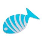 Набор мини-ковриков для ванны «Рыбка-полосатик», 7,5×13,5 см, 5 шт, цвет МИКС