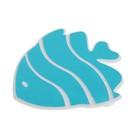 """Мини-коврики для ванны набор 5 шт 10х10,5 см """"Рыбка-бабочка"""" цвет МИКС"""
