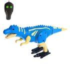 Динозавр радиоуправляемый «Робозавр», 2 функции, световые и звуковые эффекты, МИКС, в пакете