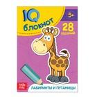 """Блокнот IQ """"Лабиринты и путаницы"""": 28 заданий, 32 страницы"""