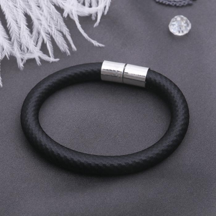 Браслет Классика нитей, цвет чёрный