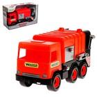 Автомобиль-мусоровоз Middle Truck, красный