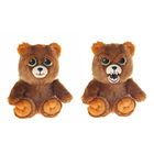 Мягкая игрушка «Бурый медведь» Feisty Pets, 21 см