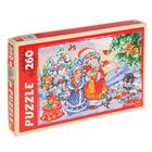 Пазлы 260 элементов «Дед Мороз и Снегурочка»