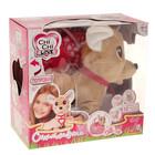 Интерактивная мягкая игрушка «Собачка Счастливчик Chi-Chi love» с сумочкой, 20 см