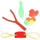 Рогатка «Шалапай», стреляет шариками, с мишенями, цвет МИКС
