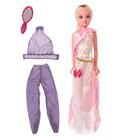 Кукла «Лаура» в платье с комплектом одежды, высота 74 см
