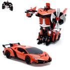 Робот-трансформер радиоуправляемый Lamborghini Veneno, работает от аккумулятора, масштаб 1:14 mz 2319P