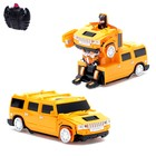 Робот-трансформер радиоуправляемый Hummer H2, ездит по стенам, масштаб 1:24, МИКС mz 2829X