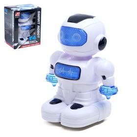 Робот «Космобот», ездит, световые и звуковые эффекты, работает от батареек