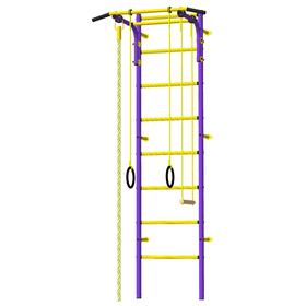 Детский спортивный комплекс «Атлет-1», ПВХ, цвет фиолетовый