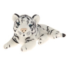 """Мягкая игрушка """"Тигруша"""", цвет белый, 18 см"""