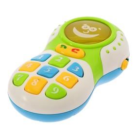 """Обучающий телефончик """"Привет- привет!"""" со звуковыми эффектами"""
