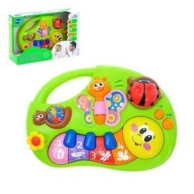 Музыкальная игрушка-ионика «Гусеничка», звуковые эффекты, английская озвучка