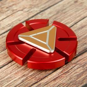 "Спиннер ""Бермудский треугольник"", красно-желтый, 6*6 см"