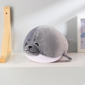 Мягкая игрушка-антистресс «Тюлень», цвет серый