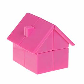 Игрушка механическая «Домик», цвет розовый