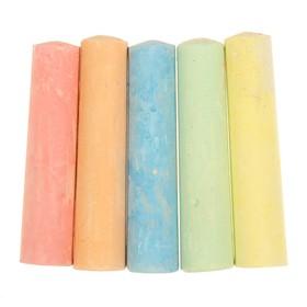 Мелки для рисования, набор 15 шт., 5 цветов