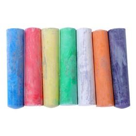 Мелки для рисования, набор 20 шт, 6 цветов