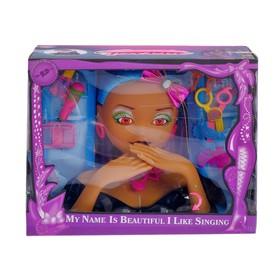 """Кукла-манекен для создания причёсок """"Красотка"""" с аксессуарами"""
