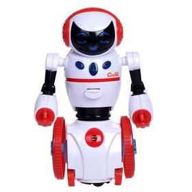 Робот «Официант», реагирует на хлопки, световые и звуковые эффекты, работает от батареек