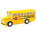 Деревянная игрушка «Школьный автобус»