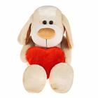 """Мягкая игрушка """"Собака Рикки"""" с сердцем"""